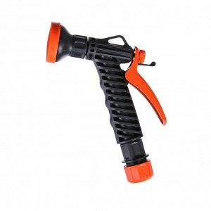"""Пистолет-дождеватель, цанговый зажим 1/2"""" (12 мм), пластик, «Жук»"""