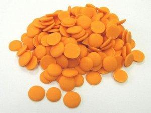Глазурь кондитерская Диски со вкусом Апельсина