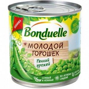 Bonduelle зел. горошек молодой ж/б 212 мл