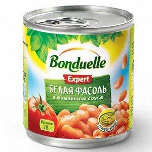 Bonduelle зел. фасоль белая в т/с ж/б 212 мл