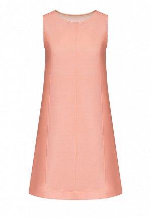 Платье из неопрена, цвет светло-розовый,