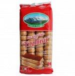 Печенье Савоярди сахарное для тирамису I dolci di montagna 400гр 1/15