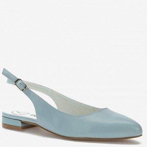 907036/03-06 голубой иск.кожа женские туфли открытые