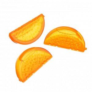 """Лед многоразовый 15шт """"Дольки апельсина"""" в сетке"""