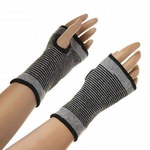 Комплект суппортов на кисть руки 2 шт, 58% нейлон, 35% латекс, 7% полиэстер, SILAPRO