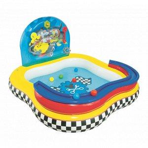 """Игровой центр 157х157х91 см """"Play Pool"""" с принадлежностями для игр, 151 л"""