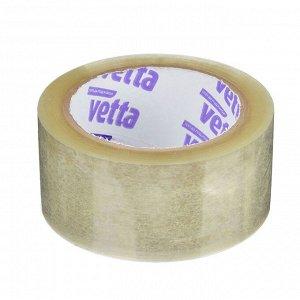 Клейкая лента, 75 мx48 мм, 40 мкрн, VETTA
