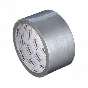 ЕРМАК Клейкая лента армированная серебряная 48мм х 10м, (инд.упаковка)