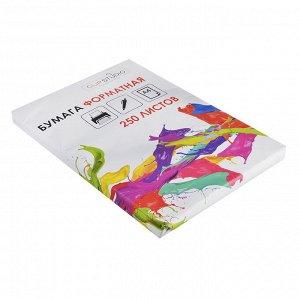 Бумага форматная А4, 250 листов, в пачке