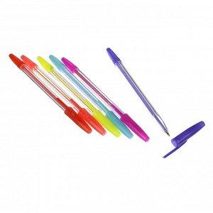 ClipStudio Набор ручек шариковых 6 цветов, 0,7 мм, в ПВХ пенале с подвесом
