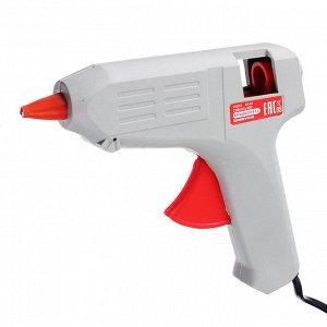 FALCO Пистолет клеевой электр. GG-80, 80Вт.нагрев 3-5 мин, 9 гр/мин, +2 стержня 11мм