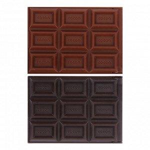"""Зеркало складное с расческой ЮниLook """"Шоколад"""", 2-3 цвета"""