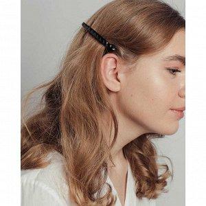 BERIOTTI Заколка для волос, металл, пластик, 8см, 3787-7