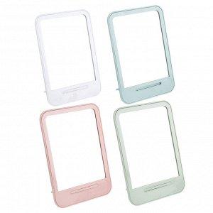 ЮниLook Зеркало настольное, стекло, пластик, 14х19,6см