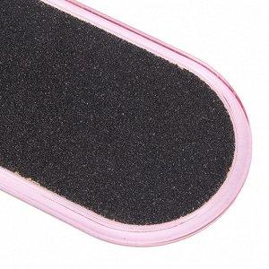 ЮниLook Терка для ног 2-х сторонняя, пластик, наждачная основа, 26см