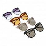 ШОК-цена! GALANTE Очки солнцезащитные женские, пластик, 143х53мм