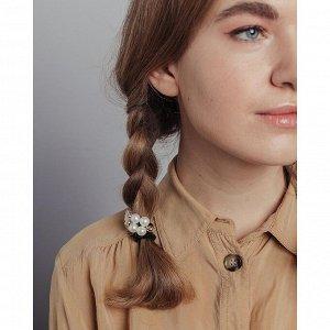 BERIOTTI Набор резинок для волос 2шт, полиэстер, пластик, d8см, 4-6 дизайнов, арт.35