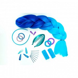 BERIOTTI Набор резинок для волос Спиралька, 6шт, пластик, 5,5см