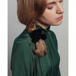 BERIOTTI Резинка для волос бархат, d6см, полиэстер