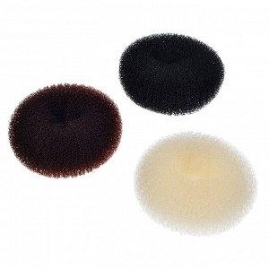 BERIOTTI Заколка-бублик для волос, поролон, d5,5см