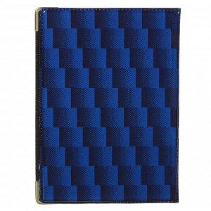 Обложка для паспорта 9,3х13,4см, ПВХ, 2 цвета, арт.P2015-21