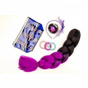 BERIOTTI Набор резинок для волос Спиралька, 2шт, пластик, 5,5см