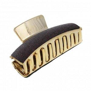 BERIOTTI Заколка-краб для волос, пластик, 8см, 2 дизайна, КВ19-04
