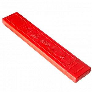 Знак аварийной остановки, цветной, пластик бокс, 42*42см, TR111-1