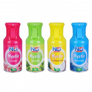 NEW GALAXY Освежитель аэрозольный Mystic 250 мл, 4 аромата