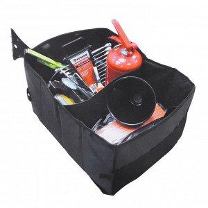 Сумка универсальная многофункциональная складная в багажник, 40х30х25см