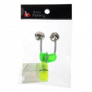 AZOR FISHING Бубенчик со светом, металл