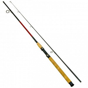 "Спиннинг AZOR FISHING ""Ультра Ред"", штекерный, файбергласс, 2,4м, тест 10-30гр"