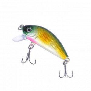 AZOR FISHING Воблер Лайт Минноу, SP, 5 гр.  5см, глубина 1, 2-1, 8 м, 6 цветов