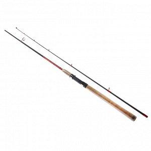"""Спиннинг AZOR FISHING """"Карбон Про"""", штекерный, карбон 90%, 2,4м, тест 5-20гр."""