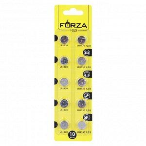 Батарейки FORZA 10шт LR54 (G10) щелочная, BL