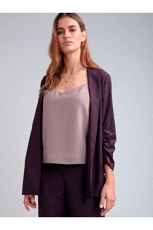#98853 Жакет (Emka Fashion) фиолетовый