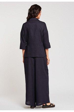 #99040 Жакет (D'IMMA) Темно-синий
