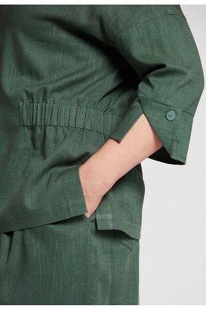 #99038 Жакет (D'IMMA) Зеленый