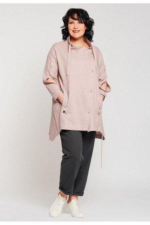 #99037 Жакет (D'IMMA) Светло-розовый