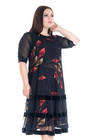 Платье-4317