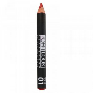 ЮниLook Помада-карандаш для губ ПГ-19 тон 01 красный, 2,2 гр.
