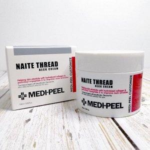 MEDI-PEEL NAITE THREAD NECK CREAM Подтягивающий крем для шеи с пептидным комплексом 100 гр.