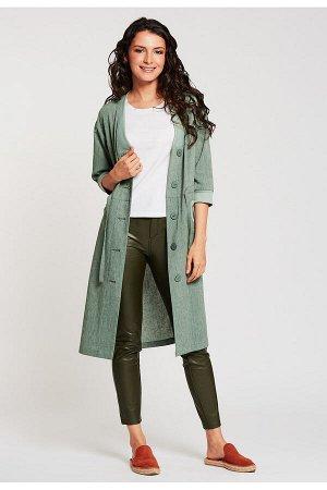 #99087 Жакет (D'IMMA) Бледно-зеленый