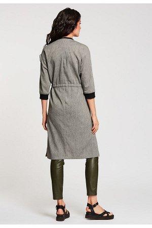 #99086 Жакет (D'IMMA) Серый