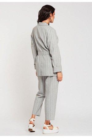 #99042 Жакет (D'IMMA) Серый
