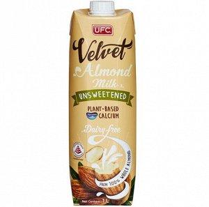 Напиток Миндальный UFC Velvet 'Unsweetened' без сахара, 1000 мл