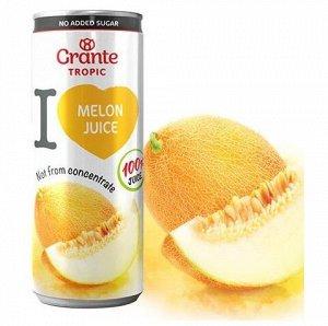 100% сок Дыни Grante прямого отжима 250мл ж/б