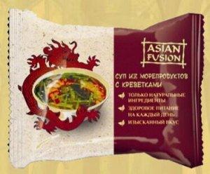 Суп ASIANFUSION из морепродуктов с кревет 12 гр 1 шт