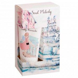 Подарочный набор Soul Melody Lady Romantic (гель для душа, крем для тела и рук).
