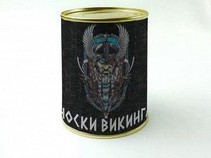 """Носки в банке мужские """"Носки викинга"""""""